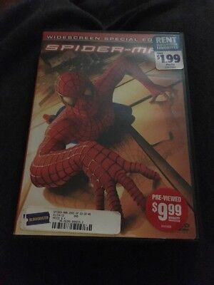 Spider-Man (DVD, 2002, 2-Disc Set, Special Edition Widescreen)
