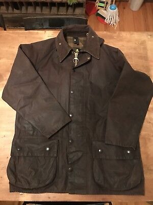 Barbour Classic Beaufort Green Field Jacket- Size Medium - Men's