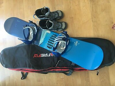 K2 Snowboard, boots, bindings And bag
