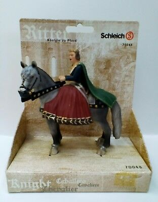 Schleich World of Knights Queen on Horseback 70048