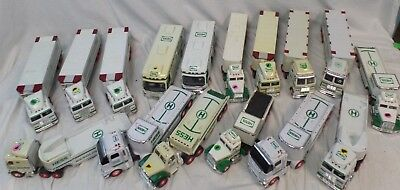 Hess Vehicles, Trucks, Tractor Trailers, Mixed Lot of 16