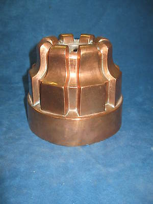 """Antique French 'Dehillerin' 5"""" Tall Copper Jelly Mold..19th C...Stunning...RARE!"""