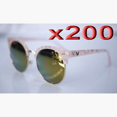 200pc Wholesale Bulk lots Women Outdoor Sunglasses Mixed Color Clearance Sale