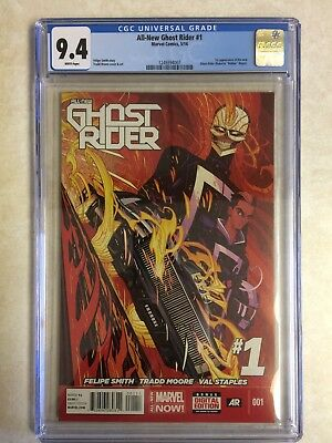 Marvel Comics ALL-NEW GHOST RIDER Issue 1 CGC Grade 9.4 (05/14)