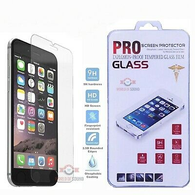 For iPhone 8 Plus Tempered GLASS Screen Protector Bubble Free HD Protective Film