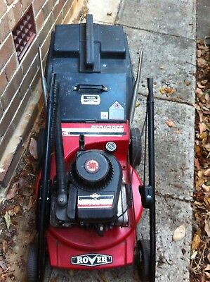 Rover Pedigree Lawn Mower 3.5 HP Deluxe 4 Stroke Briggs & Stratton Catcher Victa