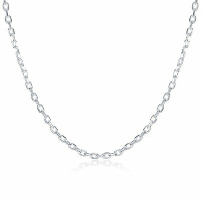 Fashion Women Necklace Adjustable Rolo Chain Simple Elegant Necklace Jewelry GT