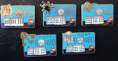 PIn's  Officiels de Fort Boyard (La collection des  5 pin's)