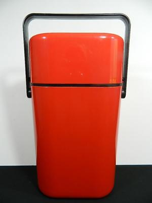 Vintage DECOR 545 Australia **RED**2-bottle BYO Insulated wine cooler w/ insert