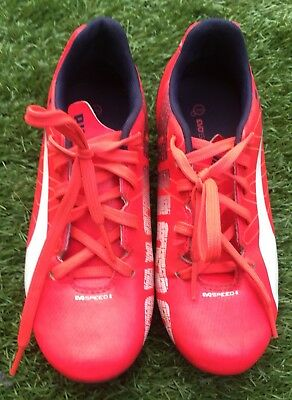 Hot Pink NIKE Kids Boys GIRL's Football Rugby Soccer Footy Boots Size 1