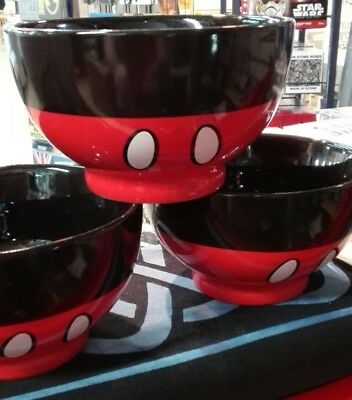 Mickey Mouse Outfit Ceramic Breakfast Bowl