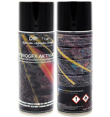 DIPON® HydroGFX Hydrographics Wassertransferdruck Aktivator Hydroprint Spray