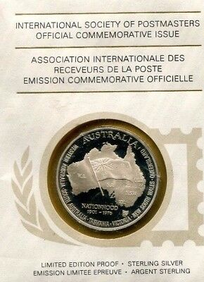 Album With 36 Beautiful Silver Medallions International Society Of Postmasters