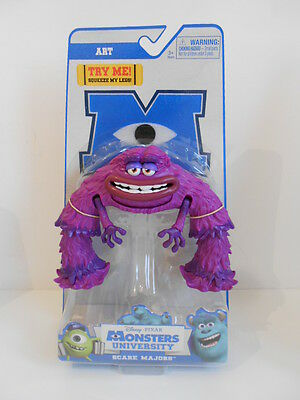 """Monsters Inc University - Scare Majors - """"art"""" - Scare Action Toy - Brand New"""