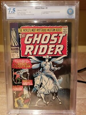 Ghost Rider #1 (Marvel 1967) Origin and 1st appearance of the Ghost Rider