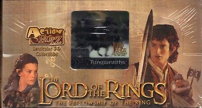 Action Flipz Lenticular 3-D Collectibles Fellowship of the Ring Lord of the Rin