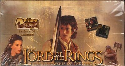 Action Flipz Lenticular 3-D Collectibles Fellowship of the Ring LOTR SEALED