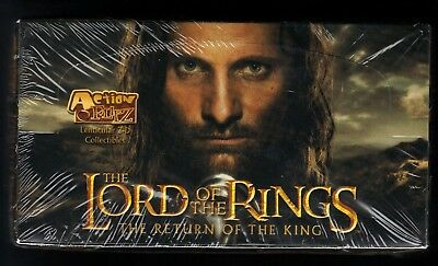 Action Flipz Lenticular 3-D Collectibles The Return of the King LOTR SEALED