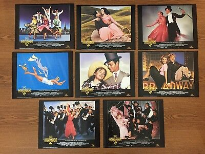 """That's Entertainment III lobby cards 1994, lot of 8, 12"""" x 9.25"""""""