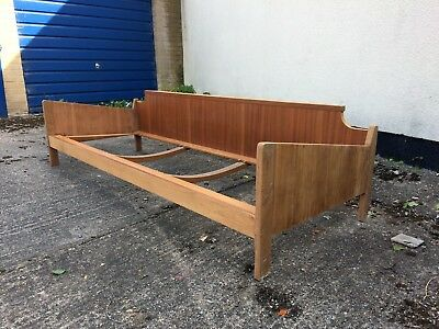 Retro Vintage Mid Century Sofa Day Bed 50s 60s 70s Frame Danish for renovation