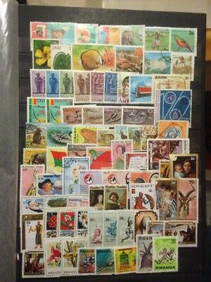 Africa Stamps Various 130 Approx