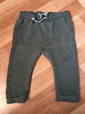 Zara baby green joggers size 12-18 months