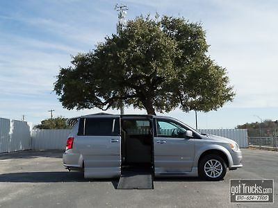 2014 Dodge Grand Caravan SXT 3.6L V6 Braun Ability Mobility Van Side Entrance Low Miles Remote Power Doors Backup Cam
