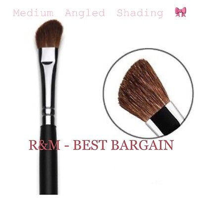 Medium Angled Eye Shading Brush Makeup Tool Made Of Natural Hair