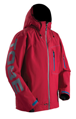 TOBE Privus Jacket Chili Pepper Red Model #: 050216-003 - 50% OFF!