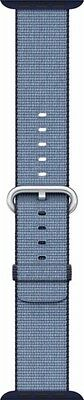 Genuine MP222AM/A Woven Nylon Apple Watch 38mm  - Navy/Tahoe Blue