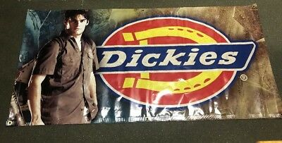 """DICKIES  BANNER SIGN STORE ADVERTISING 69"""" x 33"""""""