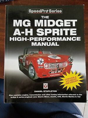 MG Midget & Austin-Healey Sprite High Performance Manual Book~3rd Edition RARE