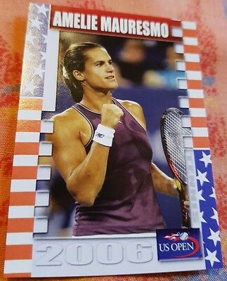 Amélie MAURESMO 2006 US Open Collector Edition card #11/25 Tennis