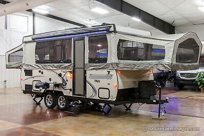 New 2018 High Wall HW29SC Pop Up Fold Down Slide Out Tent Camper Travel Trailer