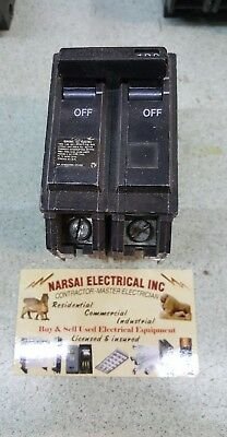 Ge General Electric Thql21100  Circuit Breaker 2 Pole  100 Amp 240 Vac