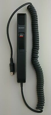 SONY HU-25 Handheld Microphone Dictation FOR SONY M-2020 Micro Dictator