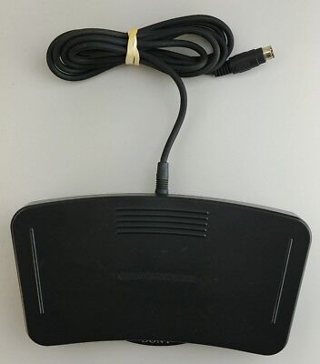 Sony FS-80 Foot Control Pedal Unit for M2000 M2020 Dictation Transcriber