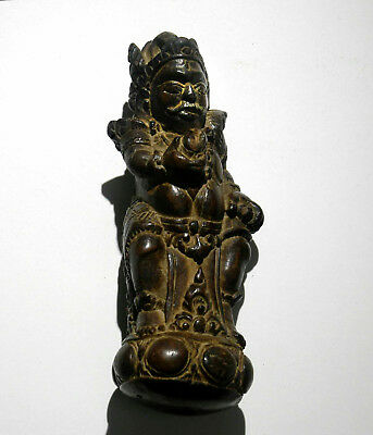 Antique Figural Wood Carved Handle, Indonesia