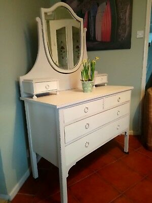 Painted Antique Dressing Table