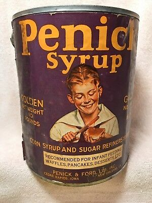 Vintage Penick Syrup Can