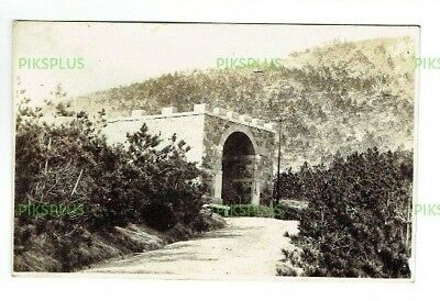Old Postcard Chinese Priest Mausoleum Wei Hai Wei China Real Photo Vintage 1920S