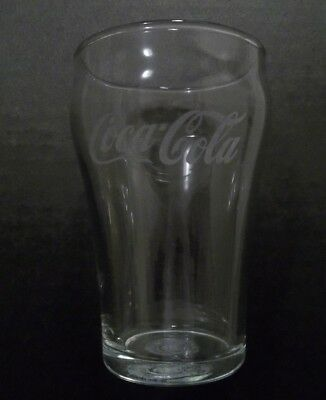 1930s era antique COCA COLA vintage Drugstore Soda old Fountain •ETCHED GLASS•