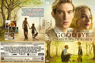 GOODBYE CHRISTOPHER ROBIN (DVD) BRAND NEW~FILM OF The Making of Winnie-the-Pooh