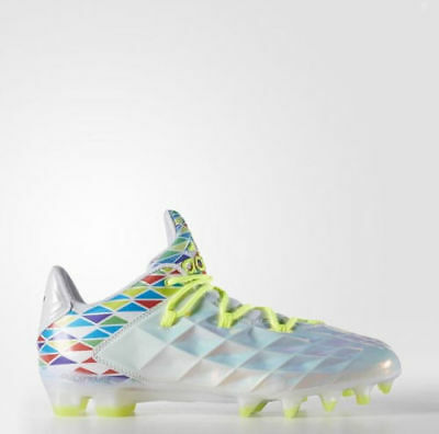 New Mens Adidas CrazyQuick LAX Football Cleats Refractor Size 12 Low Lacrosse