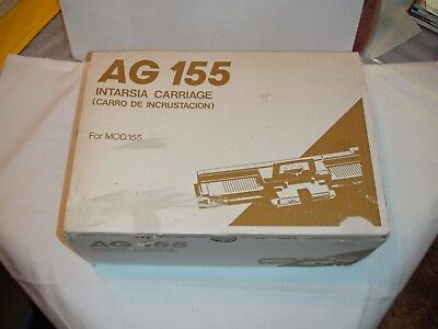 Knitting Machine Accessory: Singer Ag 155 Intarsia Carriage For Bulky Machine