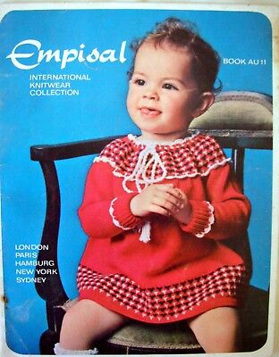 Empisal Knitting Machines Patterns Book AU11 - KNITS FOR TODDLERS - VGC