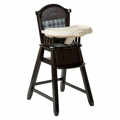Eddie Bauer High Chair - cherry wood, very good / excellent condition