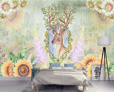 Sweet Plausible Tree 3D Full Wall Mural Photo Wallpaper Printing Home Kids Decor