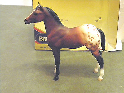 Vintage 90S Classic Breyer Horse #861 Family Appaloosa Foal Collectible With Box