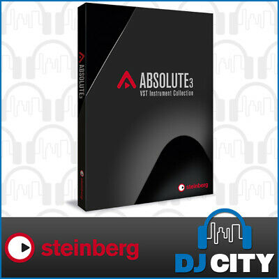 Steinberg Absolute 3 VST Porduction Plug-In Suite Music Instrument Software